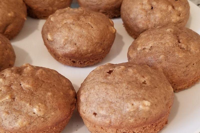 Healthy Banana Blueberry Muffin