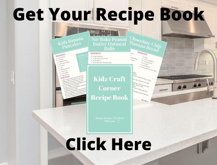 Kidz Craft Corner Recipe Book