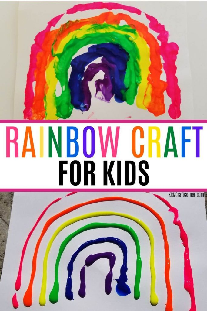 blowing paint with straws
