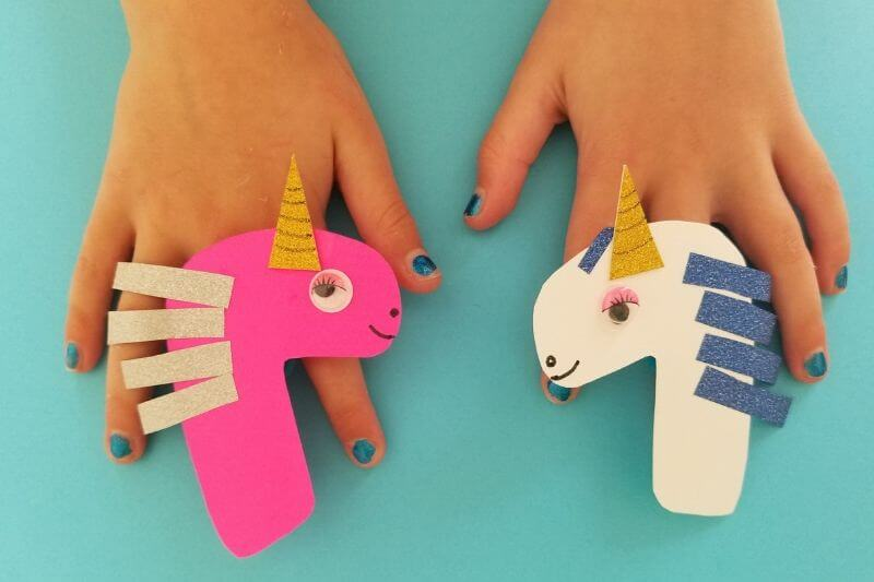 paper unicorn craft