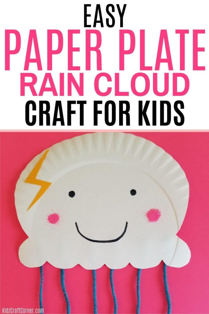rain cloud weather theme craft