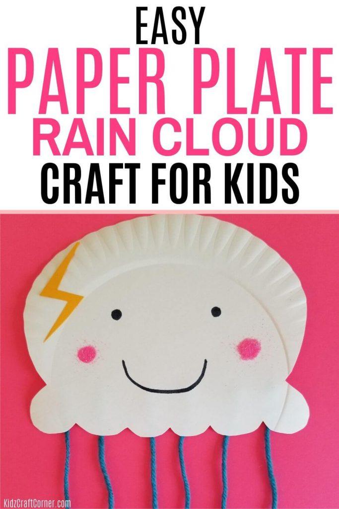 rain cloud weather theme craft