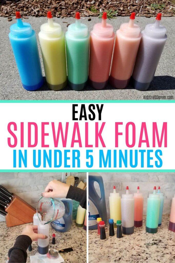 sidewalk foam