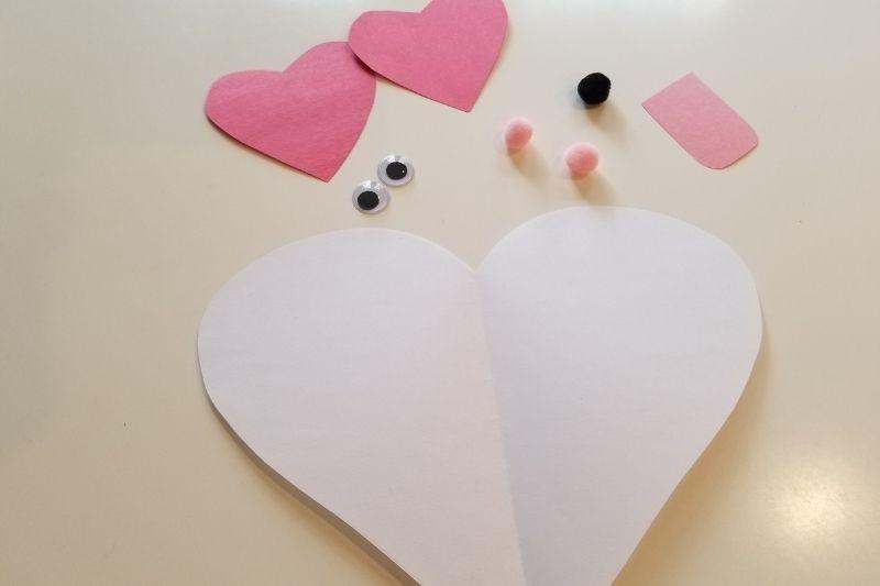 valentines puppy hearts