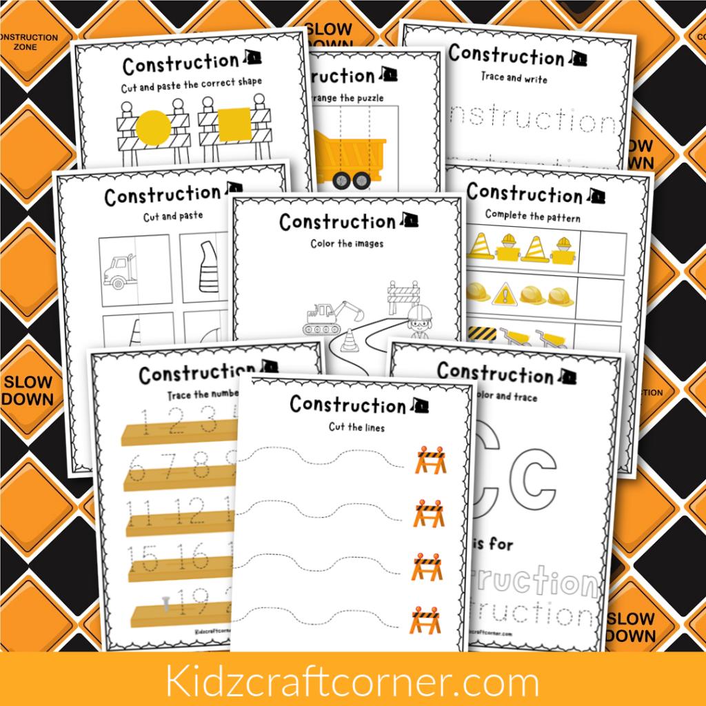 Construction Craft Ideas