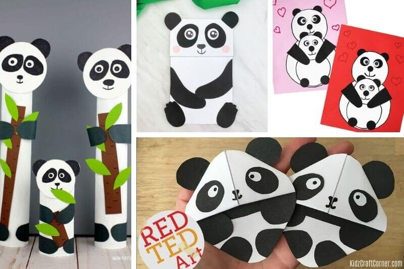 panda craft ideas
