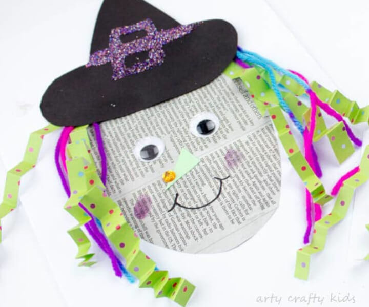 easy witch craft for kids to make with paper