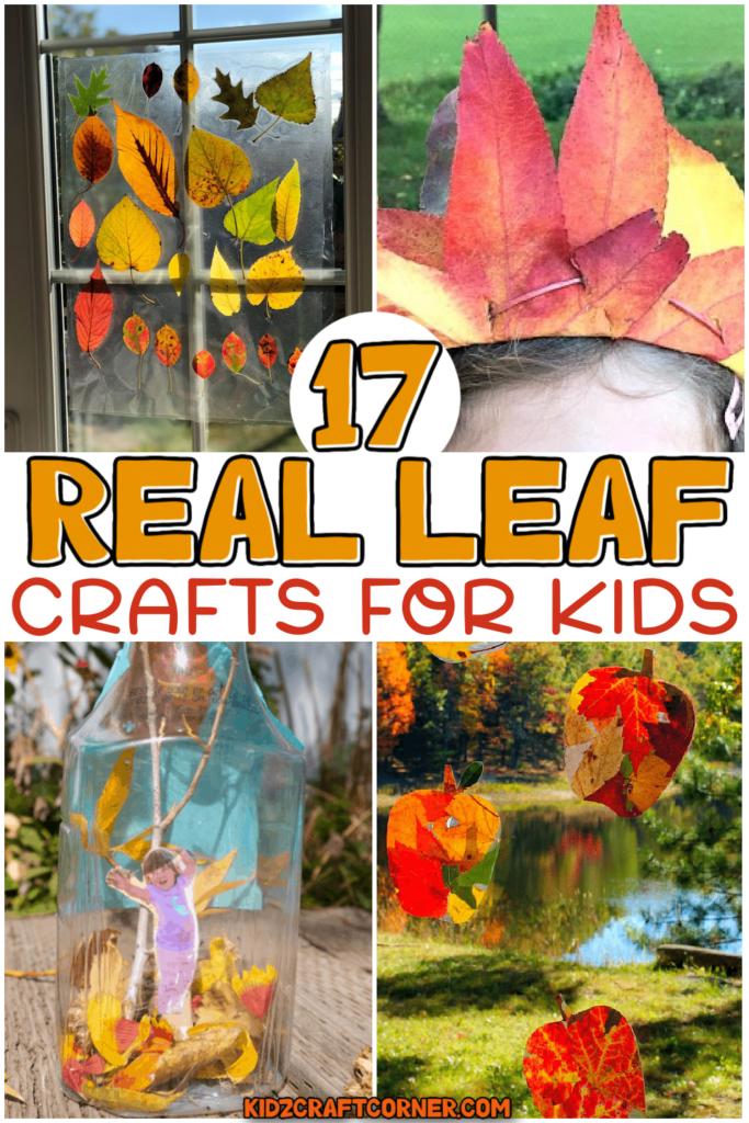 leaf crafts for kids